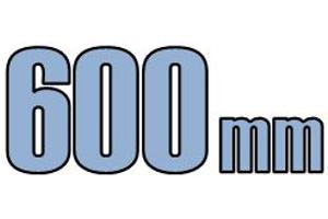 600mm opføringsrør & tilbehør