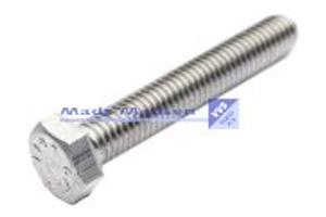 Sætskruer DIN 933 A2 Rustfri