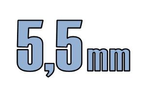 5,5mm pladeskrue DIN 7981C A2 PH PZ Rustfri