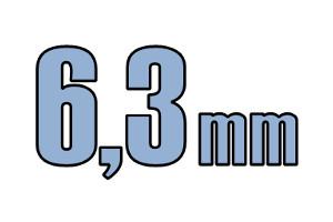6,3mm pladeskrue DIN 7981C A2 PH PZ Rustfri
