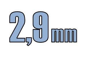 2,9mm pladeskrue DIN 7981C A2 PH PZ Rustfri