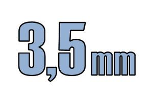 3,5mm pladeskrue DIN 7981C A2 PH PZ Rustfri