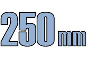 250mm kloak fittings