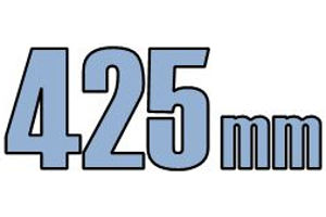 425mm opføringsrør & tilbehør